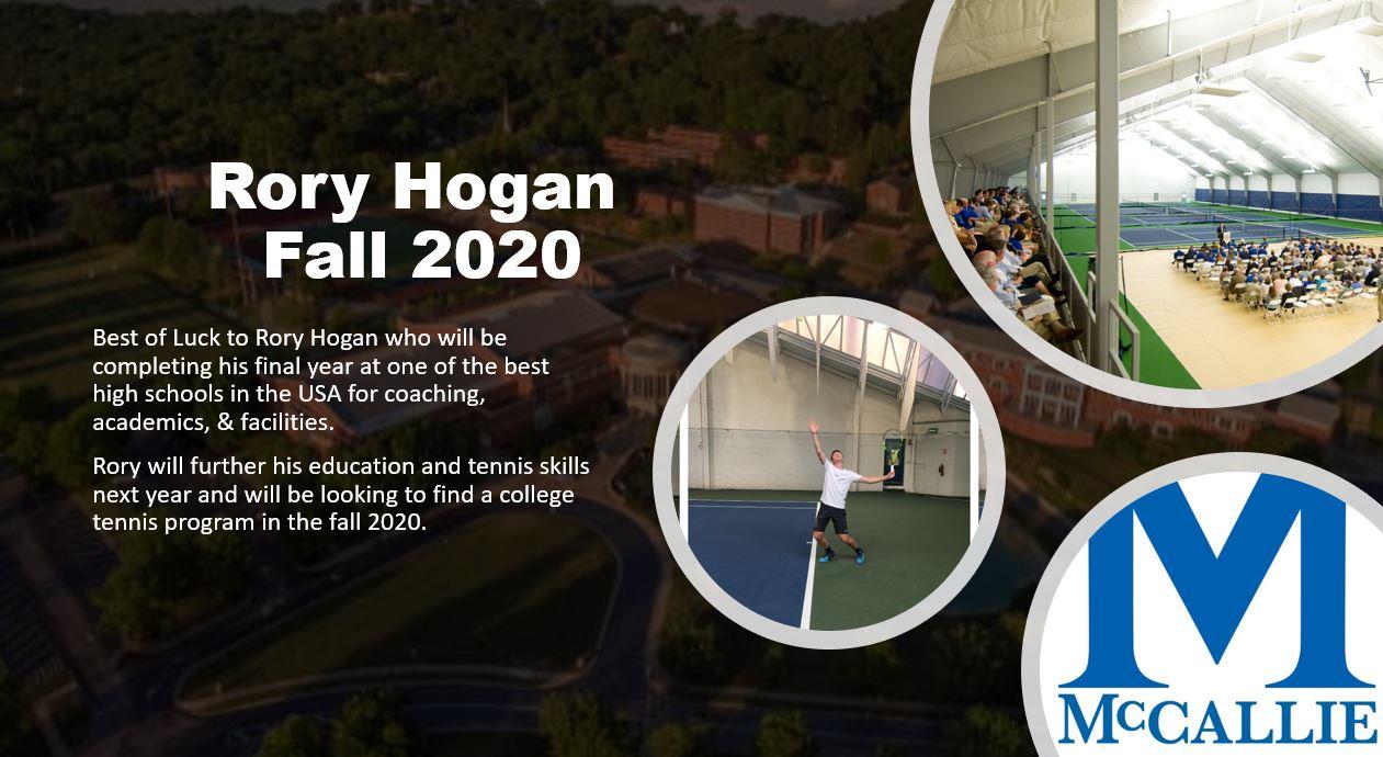 Rory Hogan MCcallie